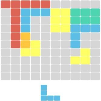 Değişik tetris oyunu oyunu
