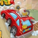 Paintball araba yarışı oyunu