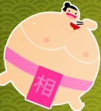 Yemek yiyen sumo oyunu